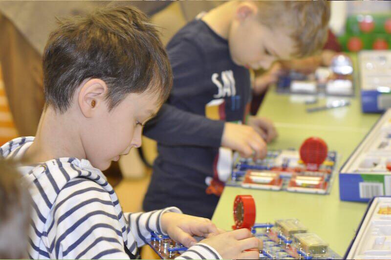 Программа курса рассчитана на детей от 5-ти лет