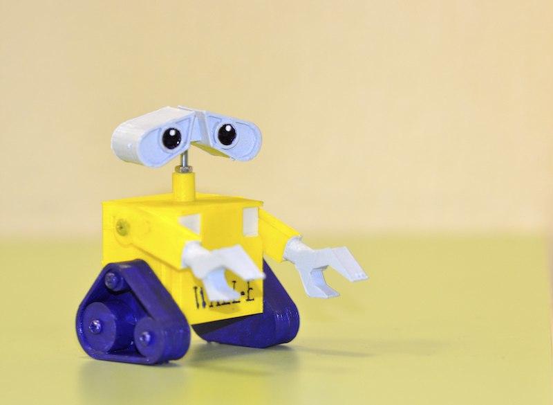 Живой робот Валли